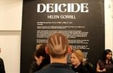 Dei-cide solo exhibition London by Helen Gorrill, Painting