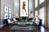 Large drawing - interiors project London by Helen Gorrill, Painting