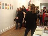 London exhibition curator's talk by Helen Gorrill, Photography