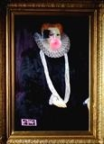 Remi Ma the Countess of Shrewsbury by Helen Gorrill, Painting, Oil paint and collage on board