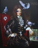 Sir Christopher Wren, Bankside 2018 by Helen Gorrill, Painting