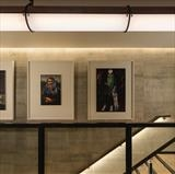portrait gallery installed at Bankside Hotel London by Helen Gorrill, Painting