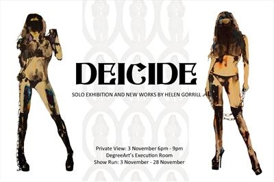 DEICIDE solo exhibition London 2011